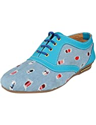Fashion Toes Girl's Blue Synthetic Shoe