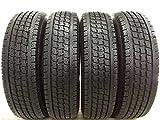 【中古スタッドレスタイヤ】【送料無料】トーヨータイヤ  DELVEX 934 165R14 6PR 4本セット 中古タイヤ