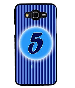 Fuson 2D Printed Numerology Designer back case cover for SAMSUNG GALAXY GRAND MAX G720 - D4222