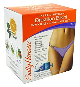 Sally Hansen Brazillian Bikini Wax+Shape Kit
