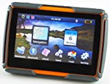 Not Just Another GPS - 4.3 Inch Rugged, Watertight Motorcycle/Car GPS Unit with Bluetooth, USA Maps, PC Nav App, MP3 Player