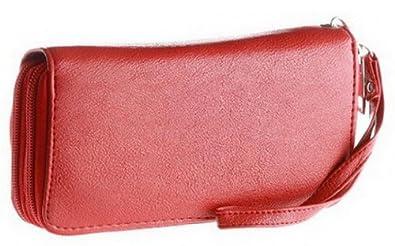 Unlimited Fashion Classic Women's Zippered Wallet, Purse Wristlet Clutch