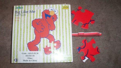 Picture of Jakks Pacific - Child Guidance Sesame Street Elmo Big Like Me 24 Piece Puzzle (B002A9945Q) (Floor Puzzles)