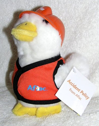 talking-6-plush-aflac-duck-in-orange-safety-vest-and-construction-hard-hat