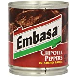 Embasa Chipotle Peppers in Adobo Sauce (12x7 OZ)