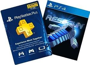 RESOGUN + 3-Month PS Plus - PS4 [Digital Code]