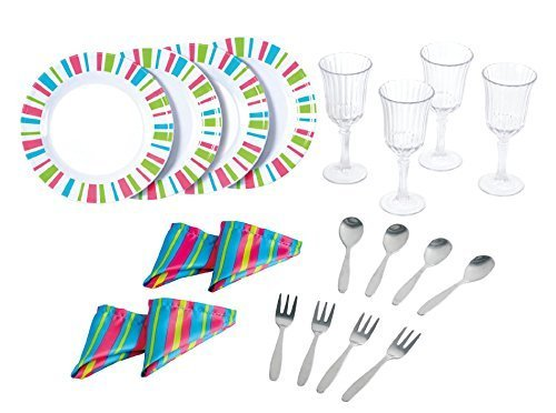 my-first-kenmore-20-piece-dinnerware-set-by-playgo-plates-play-girls-toys-kitchen-4-sets-of-tin-plat