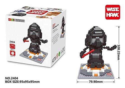 Star Wars The Force Awakens Nanoblocks Kylo Ren Nano Blocks Droid BB8 Nano Building Blocks Toys Lot 6 Sets Collection with Gifts Box