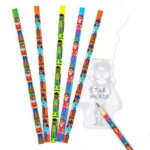 lot-de-8-crayons-super-heros-etoile-ideal-comme-cadeau-de-pochette-surprise