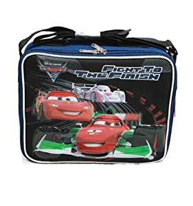 Disney Pixar Cars 2 - Fight to the Finish Lunch Bag