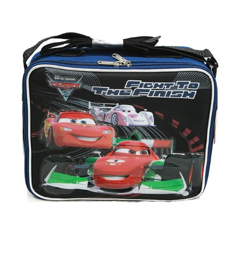 Disney Pixar Cars 2 - Fight to the Finish Lunch Bag - 1