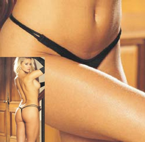 Shirley of Hollywood THONG DBL.SIDE STRAP