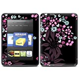Kindle Fire HD skin - Dark Flowers - High quality precision engineered removable adhesive skin for the Amazon Kindle Fire HD 7