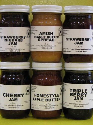 Best Sellers Gift Box (6-4.5 oz jars in a gift