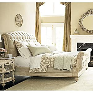 Jessica McClintock The Boutique Sleigh Bed