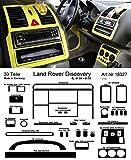 Prewoodec Cockpit Dekor f�r Landrover Discovery SALLJG 01.90 bis 01.99 Gelb hell (Exklusive 3D Fahrzeug-Ausstattung - Made in Germany)
