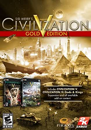 CIV V GOLD + Brave New World [Online Game Code]