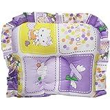 Wonderkids Multi Print Baby Cotton Pillow - Purple