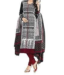 Rangrasiya Corportation Women's polycotton Unstitched Dress Material_18__Freesize