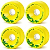 ORANGATANG Longboard Wheels DURIAN 75mm 86a YELLOW
