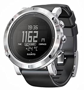 Suunto Core Brushed Steel Altimeter Watch Brushed Steel, One Size by Suunto