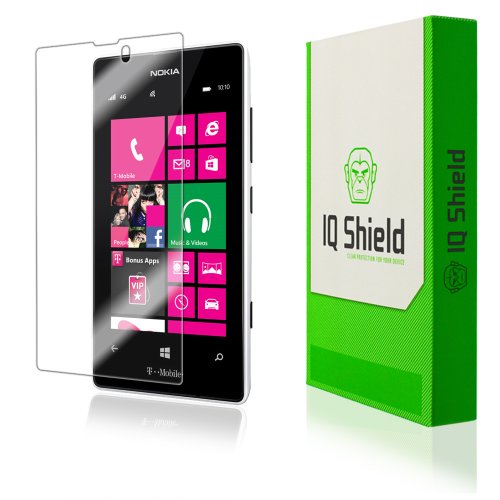 Iq Shield Liquidskin - Nokia Lumia 521 Screen Protector - High Definition (Hd) Ultra Clear Phone Smart Film - Premium Protective Screen Guard - Extremely Smooth / Self-Healing / Bubble-Free Shield - Kit Comes With Retail Packaging And 100% Lifetime Replac front-325834