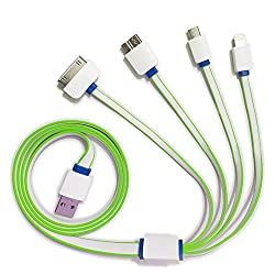 Maxwest Gravity 5.5 LTE Compatible Multi-Pin / Multipin Usb Cable / Data cable -(Color May Vary As Per Availability)