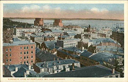 birds-eye-view-of-town-and-harbor-portland-maine-original-vintage-postcard