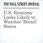 U.S. Economy Looks Likely to Weather 'Brexit' Storm | Ian Talley,David Harrison