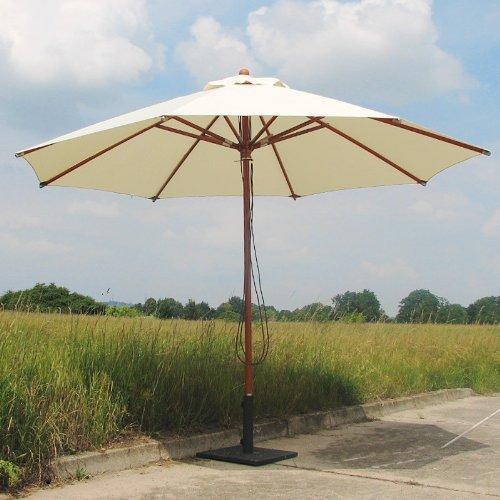 bauhaus sonnenschirme doppler balkonschirm sunline waterproof iii natur 225 x shade. Black Bedroom Furniture Sets. Home Design Ideas