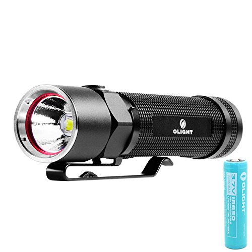 Olight S20 Baton Flashlight Cree Xm-L Led Flashlight Max 550 Lumens Power By One 18650 Battery Moonlight Torch Magnet Flashlight With Olight 3400Mah 18650 Battery