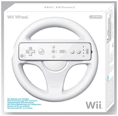Official Wii Wheel (Wii) - Wii Remote Not Included