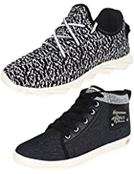 Bersache COMBO Pack Of 2 Pair Men/Boys Casual Shoes (Sneakers)