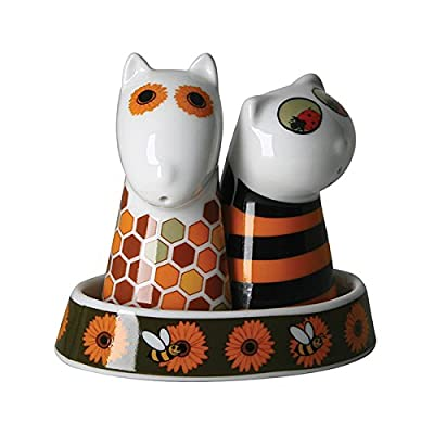 Top Choice The Honey Keepers Salt Dog and Pepper Cat, Multi-Colour by Top Choice