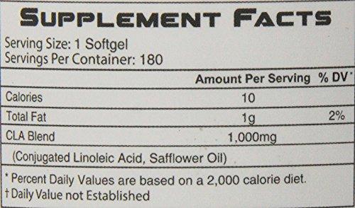 RSP Nutrition CLA Capsules, 180 Count scitec nutrition scitec nutrition pro mix 3021