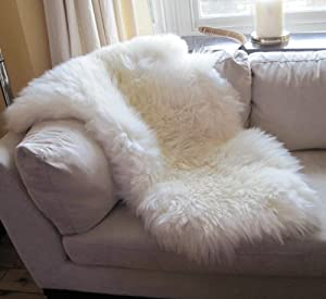 Genuine Sheepskin Rug with Extra Thick Wool (Extra Large) by Rughouse