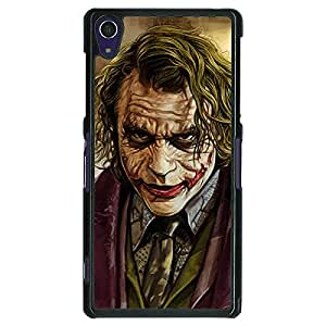 Jugaaduu Villain Joker Back Cover Case For Sony Xperia Z1