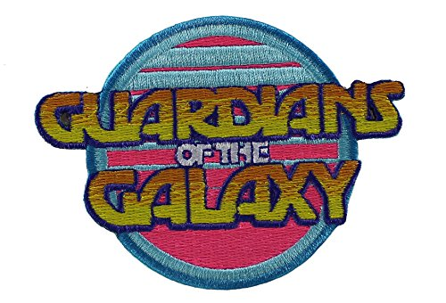 Application Marvel Guardians of The Galaxy Retro Logo Patch - 1