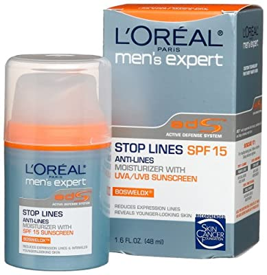 Best Cheap Deal for L'Oreal Men's Expert Stop Lines Moisturizer, SPF 15, 1.6-Ounces by L'Oreal Paris - Free 2 Day Shipping Available