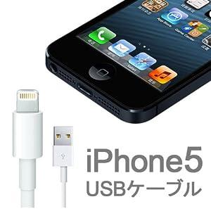 iPhone5 USB  充電ケーブル 8pin Lightning DOCK ライトニング ドック