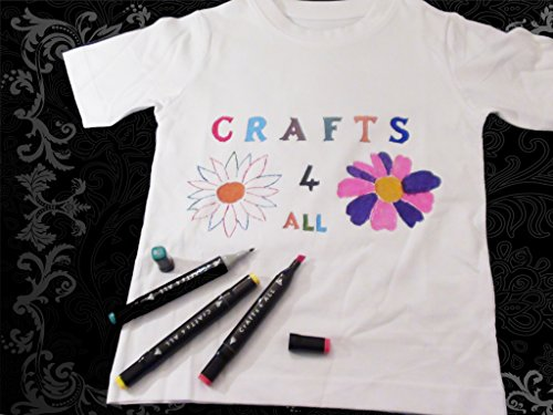Fabric Pens Markers Painting Permanent 12 Pack T Shirts