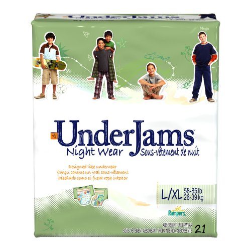 Pampers UnderJams Boys, Mega Pack, Size 8 Large/X-Large, 21 ea, 1 ea