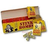 Rhode Island Novelty Stink Bombs Glass Vile Vials Novelty (Box of 36)