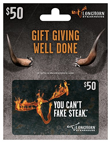LongHorn Steakhouse $50 Gift Card