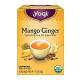 Yogi Tea, Mango Ginger, 16 Count, Packaging May Vary (Tamaño: 16 CT)