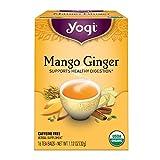 Yogi Tea, Mango Ginger, 16 Count, Packaging May Vary (Tamaño: 16 CT)