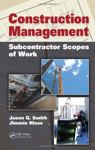 Construction Management: Subcontractor Scopes Of Work front-60519