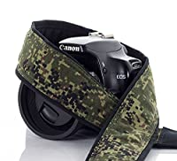 Camera Strap, 221 Digital Camo for dSLR, SLR or Mirrorless Cameras