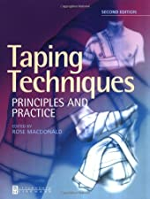 Pocketbook of Taping Techniques by Rose Macdonald BA FCSP
