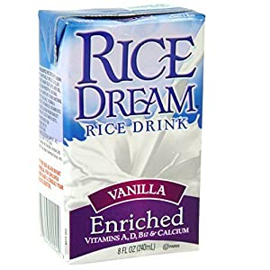 Rice Dream Rice Drink, Enriched Vanilla, 8-Ounce Boxes (Pack of 27)